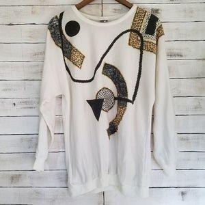 Vintage | Drop shoulder Sweater
